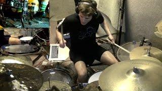 """Meshuggah - """"Swarm"""" Drum Cover"""