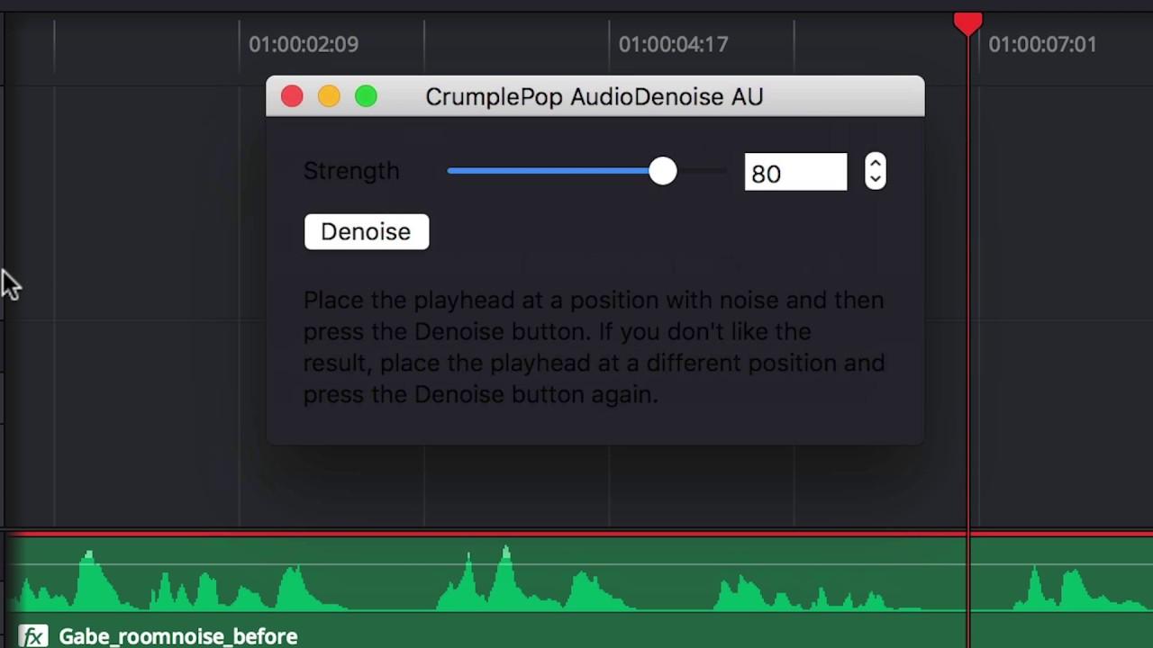 Remove Audio Noise in DaVinci Resolve - YouTube
