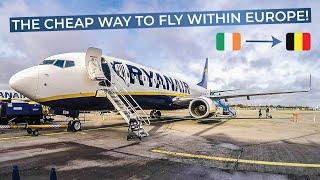 TRIPREPORT | Ryanair | Dublin - Brussels | Boeing 737-800