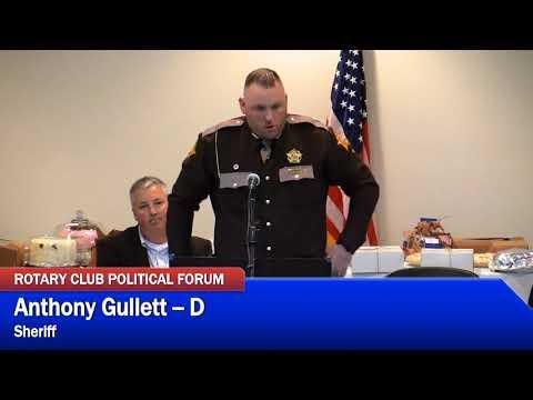 Morgan County Rotary Club Political Forum- Part 2