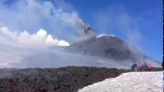 Video Captures Explosion at Mount Etna That Injured Ten Top 10 Video