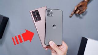 Samsung Galaxy Note 20 Ultra vs iPhone 11 Pro Max | PORÓWNANIE