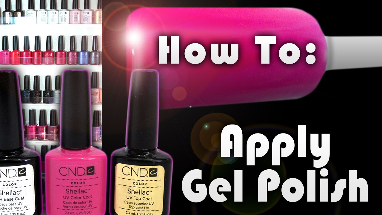 How to apply shellac