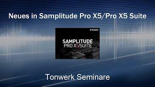 Neues in Samplitude Pro X5 und Pro X5 Suite