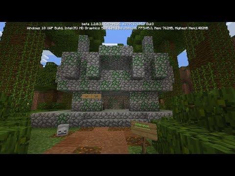 Minecraft Jungle Temple Escape!!!