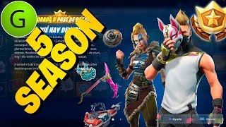 SEASON 5 *All New* BAILES SKINS MOCHILAS ALAS DELTAS . Fortnite Battle Royale