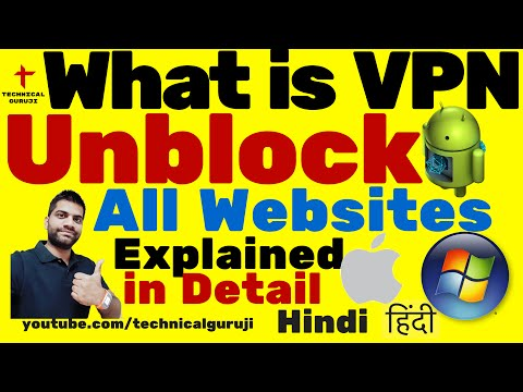 [Hindi] How to Unblock all Websites | VPN Explained in Detail