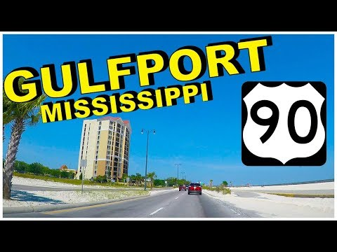 Gulfport Mississippi Hwy 90 E Drive