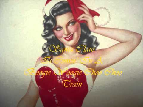 Santa Claus Is Comin' In A Boogie Woogie Choo Choo Train ~ The Tractors