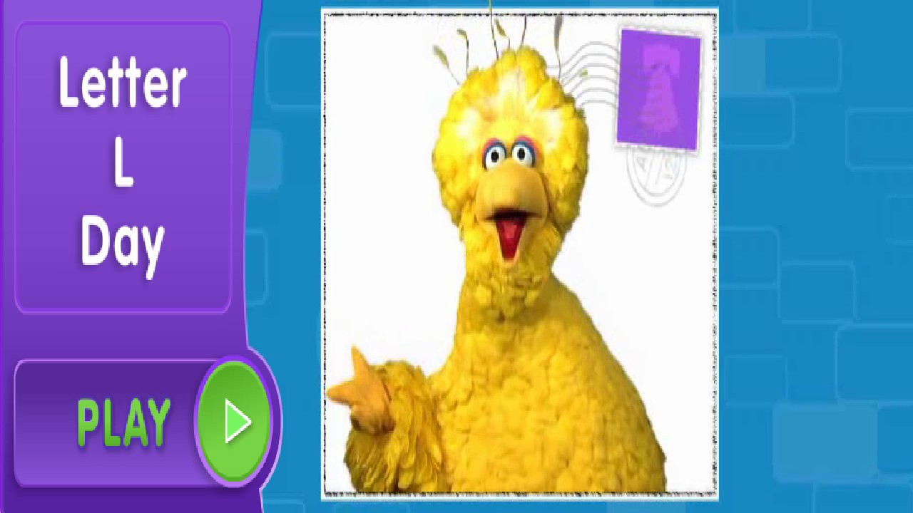 Sesame Street Letter L Day With Big Bird