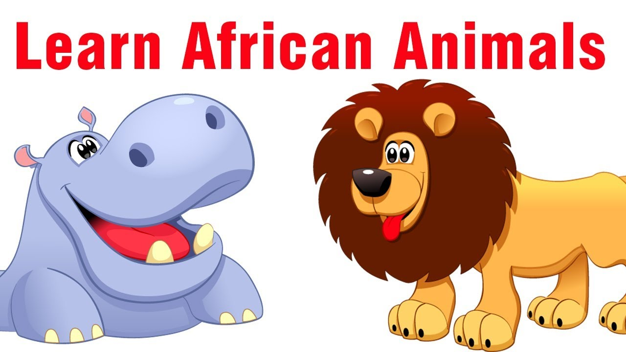 Learn African Animals | English Vocabluary for Kids