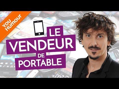 ARNAUD TSAMERE ET ANNE ROUMANOFF - Le vendeur de portables