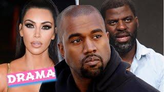 kim kardashian et kanye west charite scandale