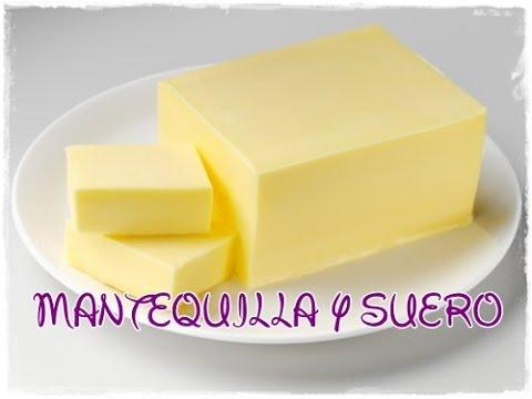 Cómo hacer mantequilla y obtener su suero
