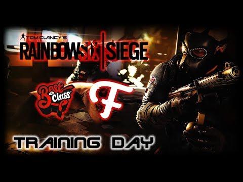 Rainbow Six Siege | Training day | Teaching Frandaman1 & Best In Class the basics!
