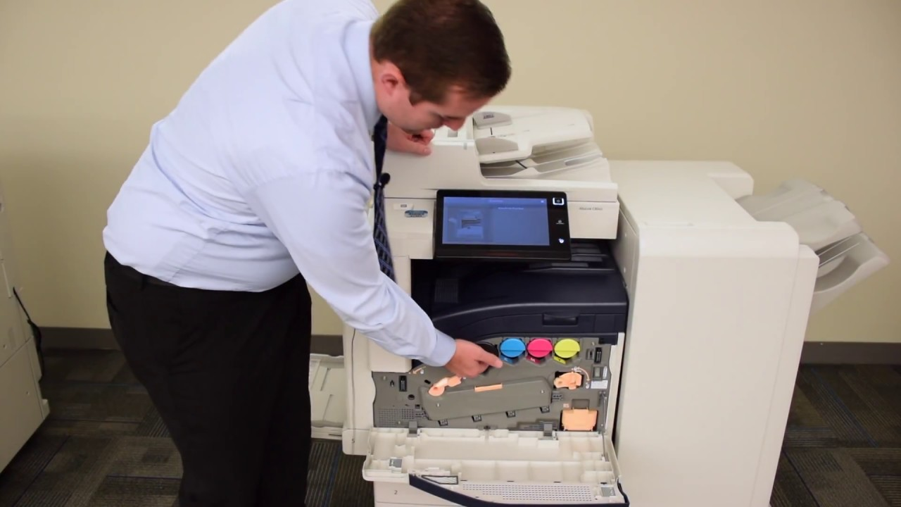 Quick Solutions Changing The Toner And Waste Toner On Xerox