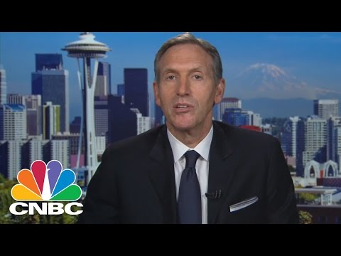 Starbucks CEO Howard Schultz: 'Race Together' Campaign | Mad Money | CNBC