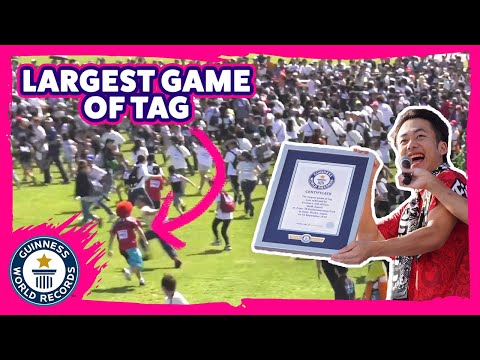 Largest Game of Tag - Guinness World Records