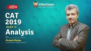 CAT 2019 Slot 1 Analysis