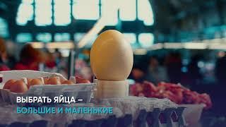 что купить на Центральном рынке перед Пасхой, и как выбрать самое прочное яйцо?