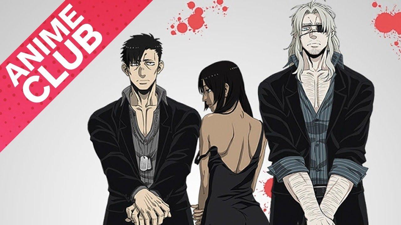 gangsta anime