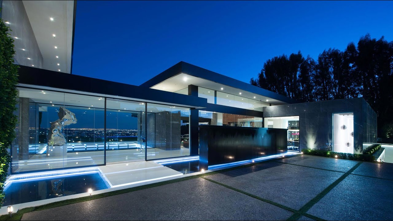 stunning contemporary luxury residence in bel air ca usa