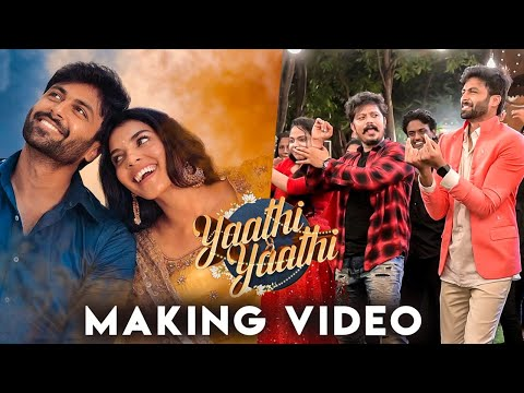 Ashwin's Yaathi Yaathi Behind The Scenes | Harshadaa Vijay | Abhishek CS | Goutham George | Sridhar