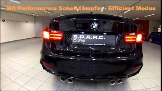 BMW M4 Coupé mit M Performance Schalldämpfer