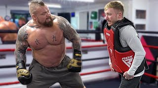 Taking Eddie Hall's 'Hardest Punch' so Nobody else has to! {Good Luck Thor}