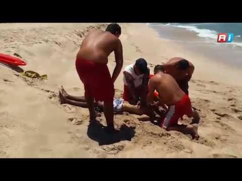 Muere indigente en playas de Mazatlán