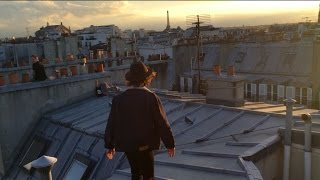 Gambar cover paris days 1 & 2: amazing airbnb view and exploring the rooftops