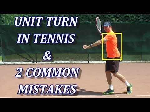 Unit Turn In Tennis - Fundamental Rules For Forehand & Backhand
