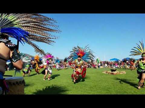 Aztec Dance Chumash Powwow 2018 Huitzilopochtli