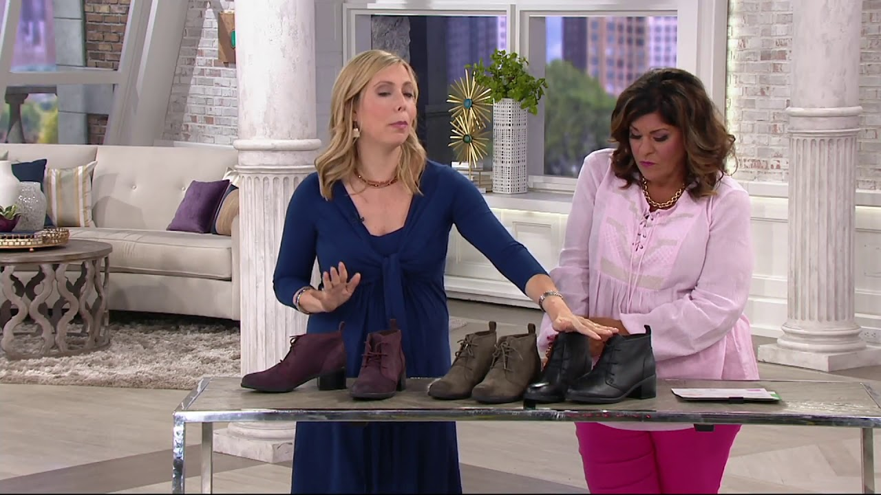 Ankle Boots - Nevella Harper on QVC