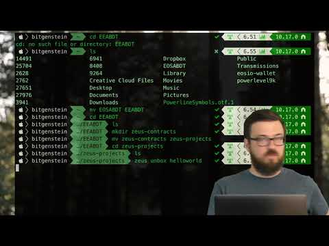 Setting up LiquidApps' Zeus SDK, including NVM + NPM (Blockchain Dev Tools by Peter Keay)