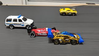 Racing Cars on Treadmill, Cars for Kids Video #cars #toys