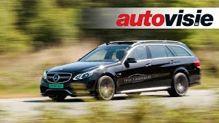 Mercedes-Benz E 63 Estate AMG S 4MATIC BRABUS 850 - review by Autovisie TV