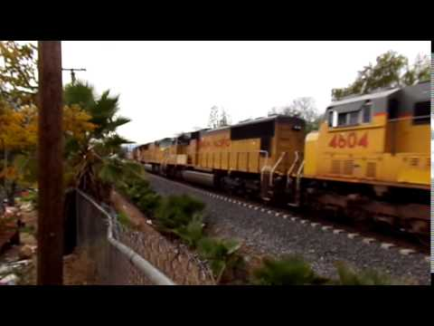 6 unit SD70Ms light power move to yermo