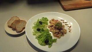 ОМЛЕТ С ОВОЩАМИ по-ФРАНЦУЗСКИ(Omelette au tomates mondées et ognions)