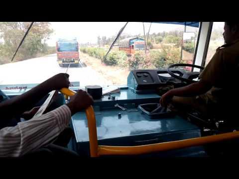 ksrtc eicher bus driver cabin bangalore shimoga aka videos. Black Bedroom Furniture Sets. Home Design Ideas