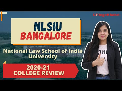 NLSIU Bangalore | Colleges for Law | Admission Process 2020