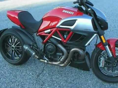 2012 Ducati DIavel- Review - YouTube