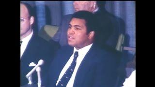 Muhammad Ali campaigns against apartheid (1978) thumbnail