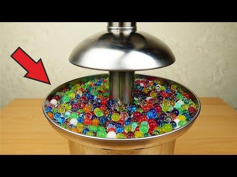 видео: Фонтан из орбиз, меда, киселя и пенопластовых шариков!