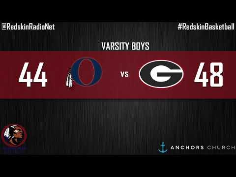 Redskin Radio Network: Oneonta vs Greensboro Varsity Boys Recap