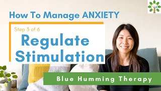 """How To Manage ANXIETY in 6 Steps """"Regulate Outside Stress"""" (3/6)"""