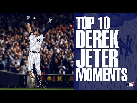 Top 10 Moments Of Derek Jeter's Career | Yankees Legend Inducted To Baseball Hall Of Fame!