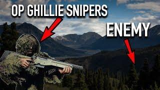 Ghillie Sniper DESTROYS Entire Enemy Team! (30/0 KD Ratio)