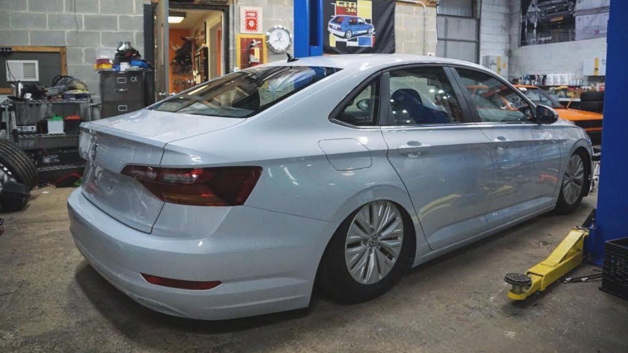 vw jetta project intro  kw race suspension youtube