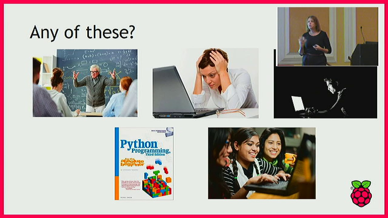 Image from Keynote: Programming in school: what's in a teacher's toolkit?